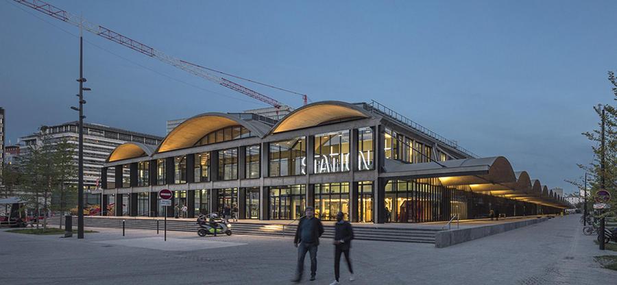 La Station F - Carrousel - SEMAPA - Société d'Étude, de