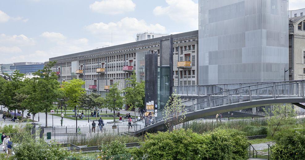 Bâtiments universitaires de Paris Diderot - Paris 7